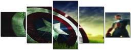 Quadro Mosaico Capitão América