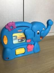 Elefante ABC aprendizagem - Playskool - animais, letras, cores, formas