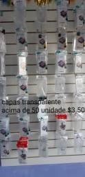 Capas transparentes de celular