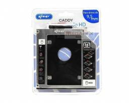 Adaptador Dvd P/ Hd Ou Ssd Notebook Drive Caddy 9.5mm Sata