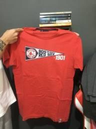 Camiseta New Era Original - Tecido Bom