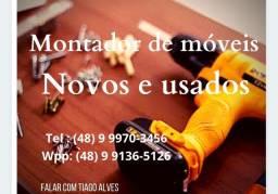 Montador de móveis (novos e usados)
