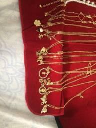 Vendo kit de joias folheadas para revenda