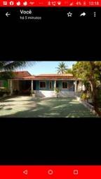 Vende-se terreno com casa já construída na ilha de aratuba.