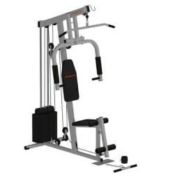 Estação de Musculação Athletic Force com 38 Exercícios