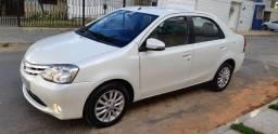 Etios Sedan Xls 1.5 Top de Linha 2015 4 Pneus Novos