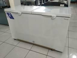 Freezer Fricon 503L tampa de aço 110v Novo Frete Grátis