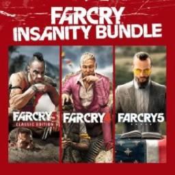 Far Cry 3, 4 e 5 - PS4