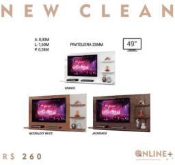 """Promoção painel com design super moderno, prateleiras 25 MM, tv 49"""""""