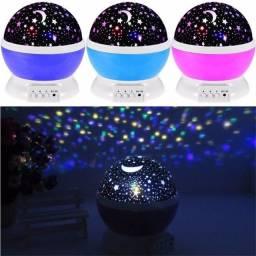 Projetor de LED Tipo Céu de Estrelas / Lua