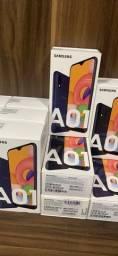 Celular Samsung A1 - NOVO - NOTA FISCAL E GARANTIA