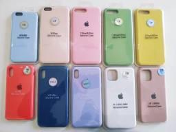 Promoção Capas Silicone s9 s10 iPhone do 6 ao 11 pro max