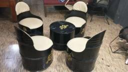 Sofá de tambor 1000