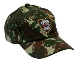 Boné Camuflado Bordado Exército Forças especiais novo