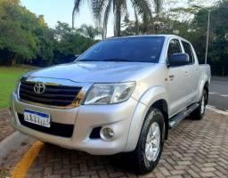 Título do anúncio: Toyota Hilux SR Automática 4x2 Flex