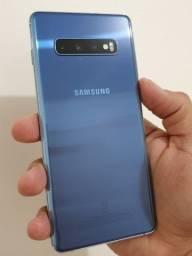 Samsung S10+ Plus com nota fiscal em garantia