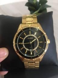 Relógio euro semi novo Original