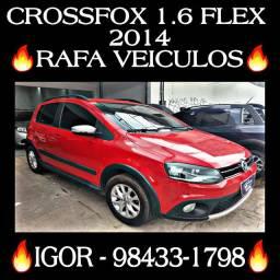 CROSSFOX 1.6 2014/2014 1 MIL DE ENTRADA RAFA VEICULOS ihg*