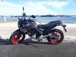 CB Twister 250cc Prata - ano 2018/2018