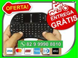 Produto.Novo>EntregaGratis>Mini Teclado Sem Fio Com Touchpad Mouse Portatil