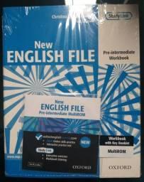 clive oxenden new english file- livro de inglês com CD