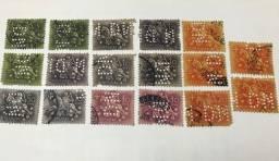 Selos filatelia portugueses