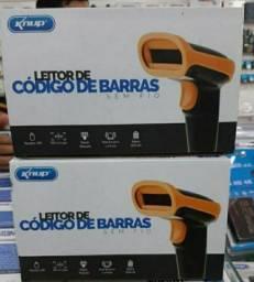 LEITOR DE CÓDIGO DE BARRAS SEM FIO KNUP-1018