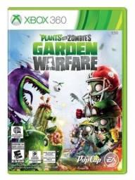Game Plants Vs Zombies Garden Warfare de Xbox 360 - Mídia Física Novo, Original E Lacrado