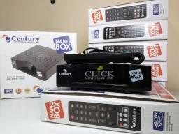 Receptor Antena Parabólica Century Nano Box, novos, entregamos