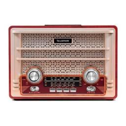 Título do anúncio: Radio Antigo Retro Vintage Portátil Am Fm Bluetooth
