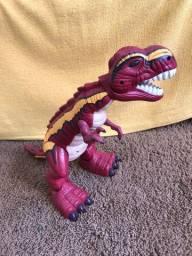 Tiranossauro Articulável de Brinquedo - Fisher Price