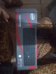Vendo teclado e mouse