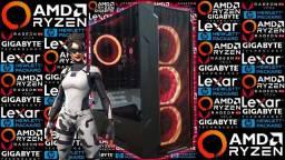 PC Gamer<>Ryzen 5 2400G + RX Vega 11<>Novo c/ Garantia!
