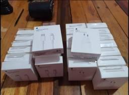 Carregador Apple original tipo C com garantia