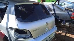 Tampa traseira Peugeot 307 com vidro.