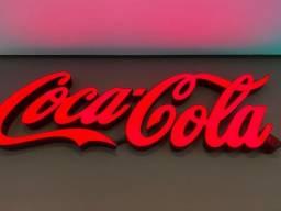 Letreiro Coca-cola