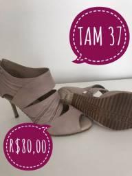 Sapato sandalia feminino mulher