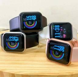 Smartwatch / whatsapp virou/ Facebook /instagram/ SMS/ batimentos / pressão arterialetc