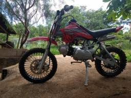 Mini moto Cross 100cc (troca pickup carro moto)