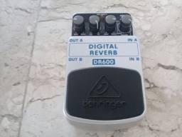 Pedal Digital Reverb Behringer BR600 (novo) para guitarra e Voz