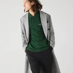 Polo masculina Lacoste Verde