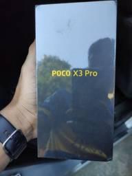 POCO X3 PRO LACRADO 6RAM/128 GB R$2.000 AVISTA