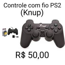 Título do anúncio: Controle PS2