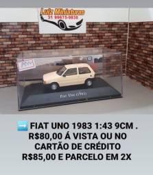 Miniatura Fiat  Uno