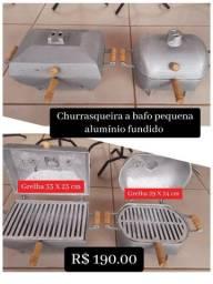 Título do anúncio: CHURRASQUEIRA ALUMÍNIO BATIDO