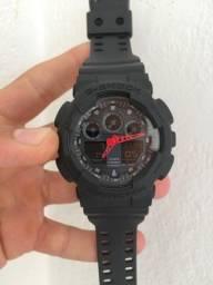 Título do anúncio: Relógio G-Shock GA100 Preto Fosco com o Ponteiro Vermelho