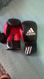 Luva de boxe/Muaythai + bandagem