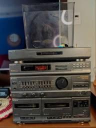 Som integrado Sony LBT-V202R - Receiver + Toca Discos