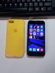 iPhone 7 Black 128GB aceito cartão