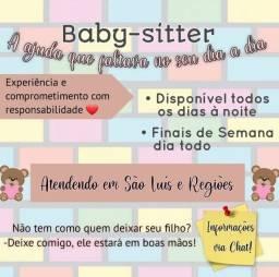 Babá Folguista / Babá Disponível/ Baby-sitter